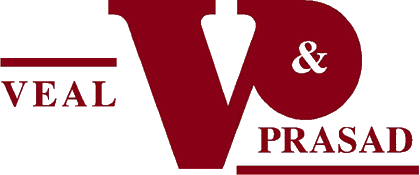 Veal and Prasad logo.